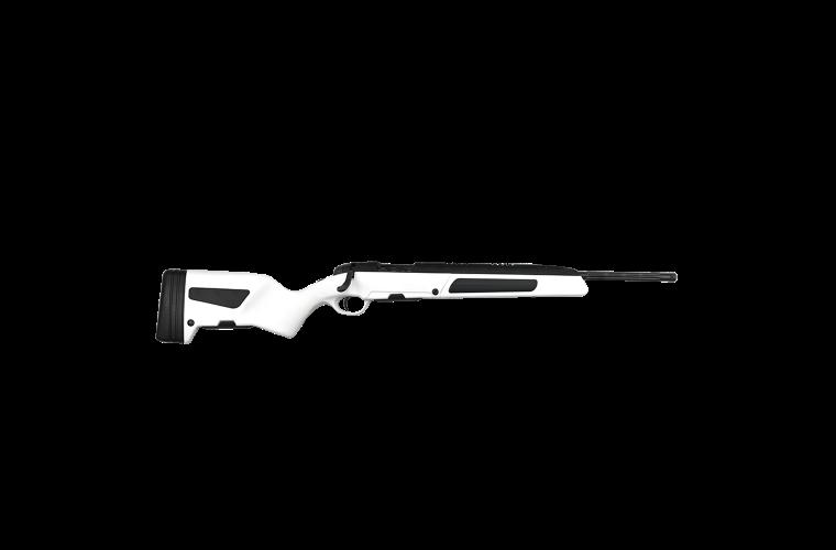 Steyr Scout 223Rem White, 1 S/Mag 5rnd Mag