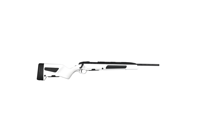 Steyr Scout 6.5CM White, 1 S/Mag 5rnd Mag