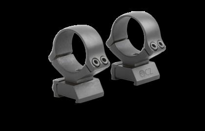 CZ 550 30mm mounts 2 piece Med