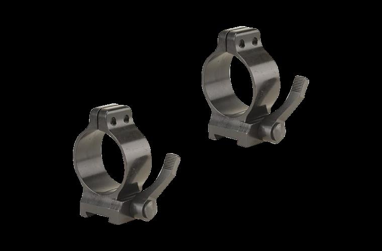 Talley 30mm high quick detach rings screw lock (base rqd)