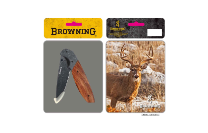 Browning Knife Whitetail Tin