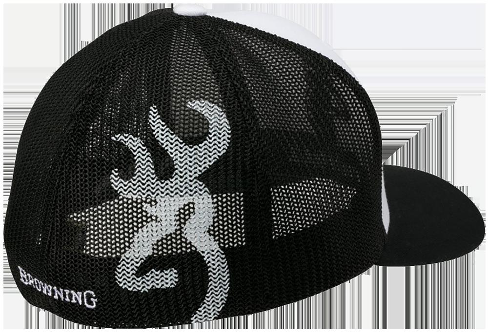 Browning Colstrip Mesh Cap White/Black L/XL
