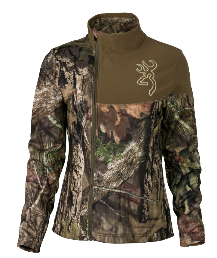 Browning Womens Fever Jacket Mossy Oak S