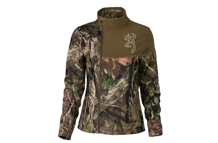 Browning Womens Fever Jacket Mossy Oak M