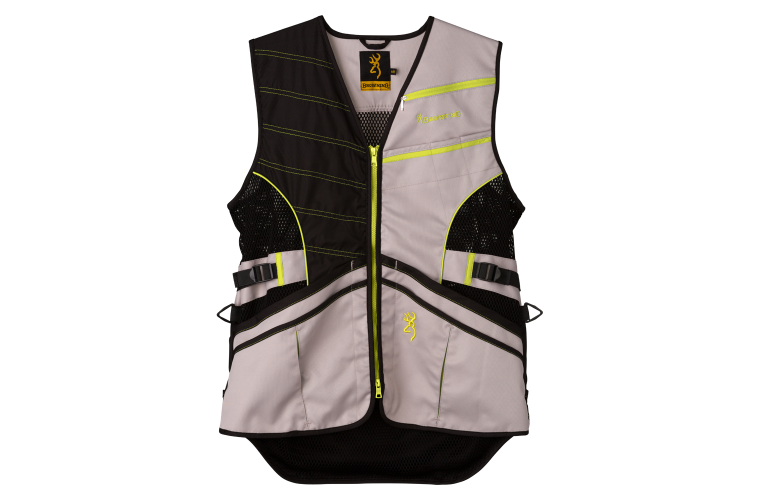 Browning Ace Shooting Vest Neon Ylw S