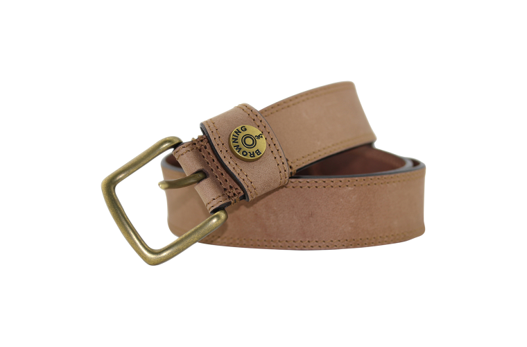 Browning Slug Belt Tan - Size 36