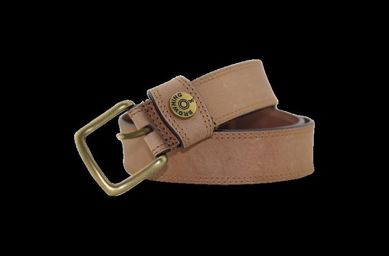 Browning Slug Belt Tan - Size 42