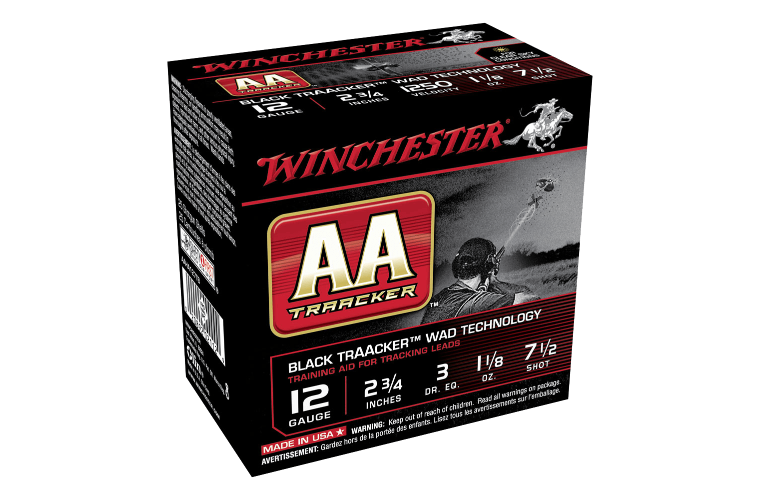 Winchester AA Tracker 12G 7.5 2-3/4