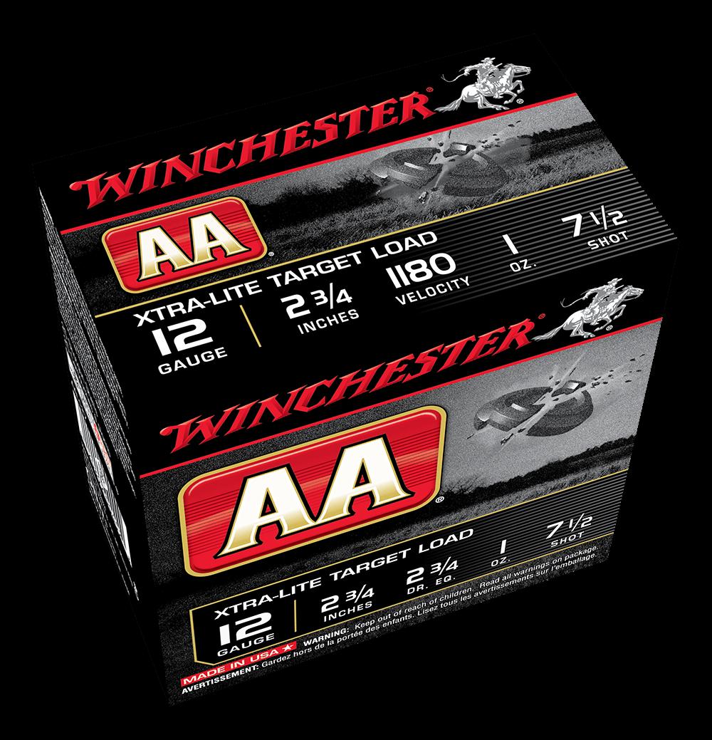 Winchester AA Xtra Lite 12G 7.5 2-3/4