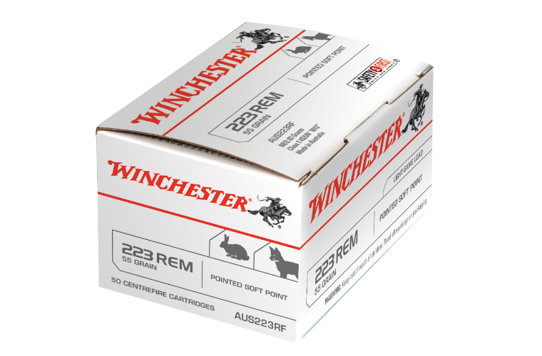 Winchester AUS value pack 223Rem 55gr PSP