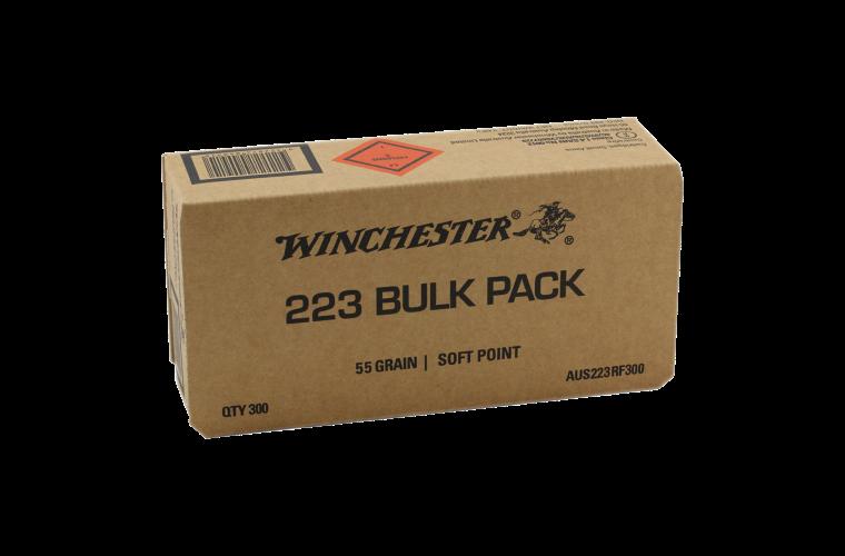 Winchester AUS Value pack 223 300 Rnd Bulk Pack