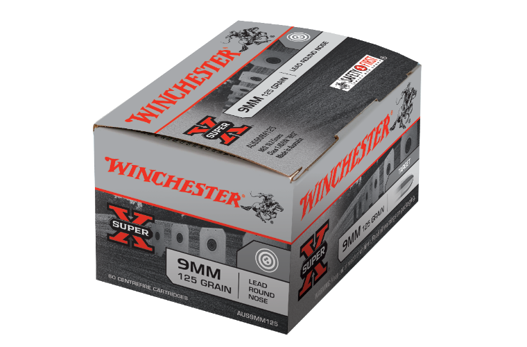 Winchester Aus Value Pack 9mm 125gr LRN