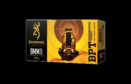 Browning BPT 9mm Luger 115gr FMJ