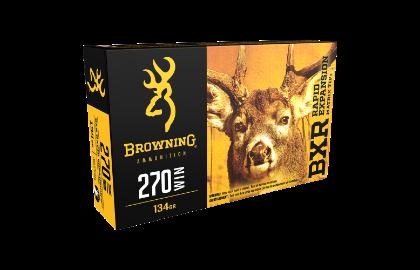 Browning BXR 270win 134gr REMT