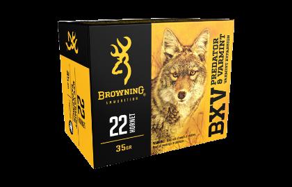 Browning BXV 22Hornet 35gr VE