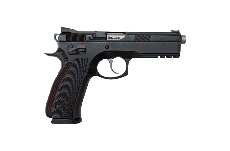 CZ 75 SP-01 Shadow Black 9MM 120mm, 2 S/Mags 10rnd Mag