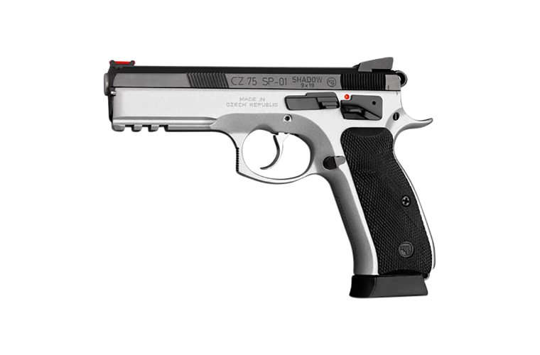 CZ 75 SP-01 Shadow D/T 9MM 125mm, 2 S/Mags 10 Rnd Mag,