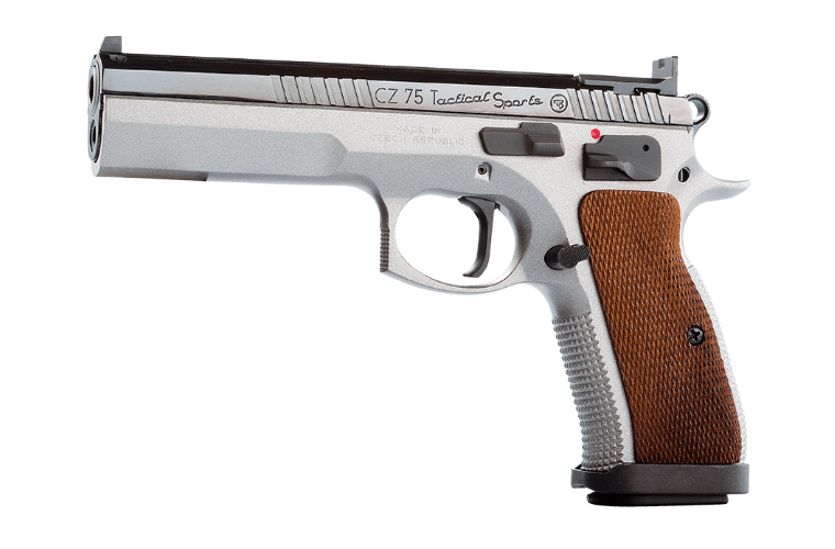 CZ 75 Tactical Sport 9MM 130mm, 2 S/Mags 10 RndMag