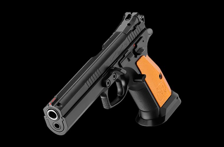 CZ 75 TS Orange 9MM 130mm, 2 S/Mags 10 Rnd Mag