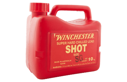 Winchester lead shot size 4 10kg