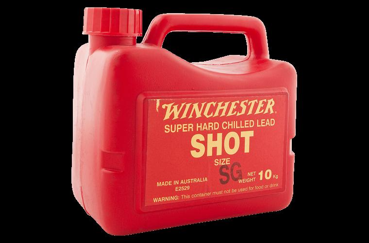 Winchester lead shot size SSG 10kg