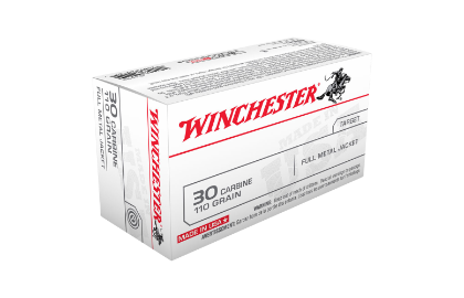 Winchester USA value pack 30 Carbine 110gr FMJ