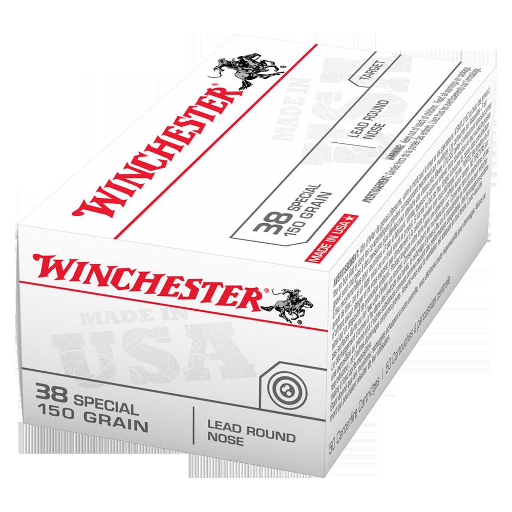 Winchester USA value pack 38SP 150gr LRN
