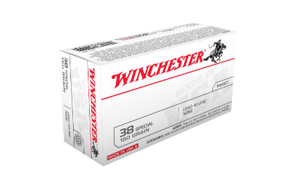Winchester USA value pack 38SP 150gr LRN
