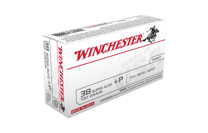 Winchester USA value pack 38 Super Auto + P 130gr FMJ
