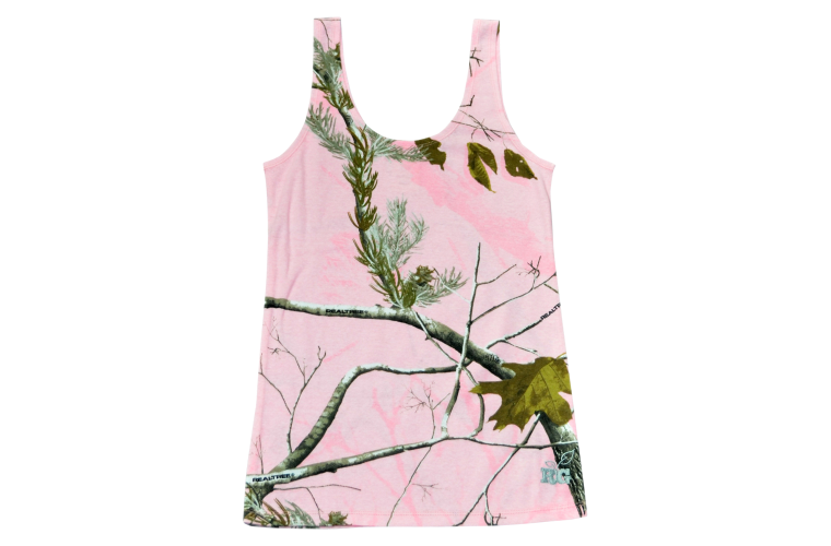 Browning Abby Tank Real Tree Pink - Extra Large