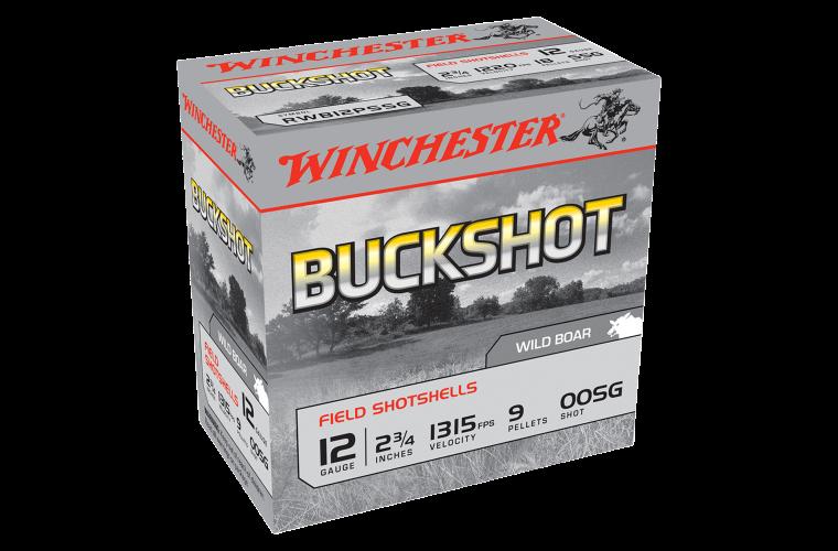 Winchester Buckshot 12G OOSG 2-3/4