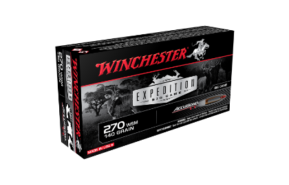 Winchester Expedition Big Game 270WSM 140gr ABCT