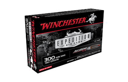 Winchester Expedition Big Game 300WM 180gr ABCT