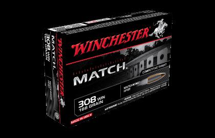 Winchester Supreme Match 308Win 168gr Sierra BTHP