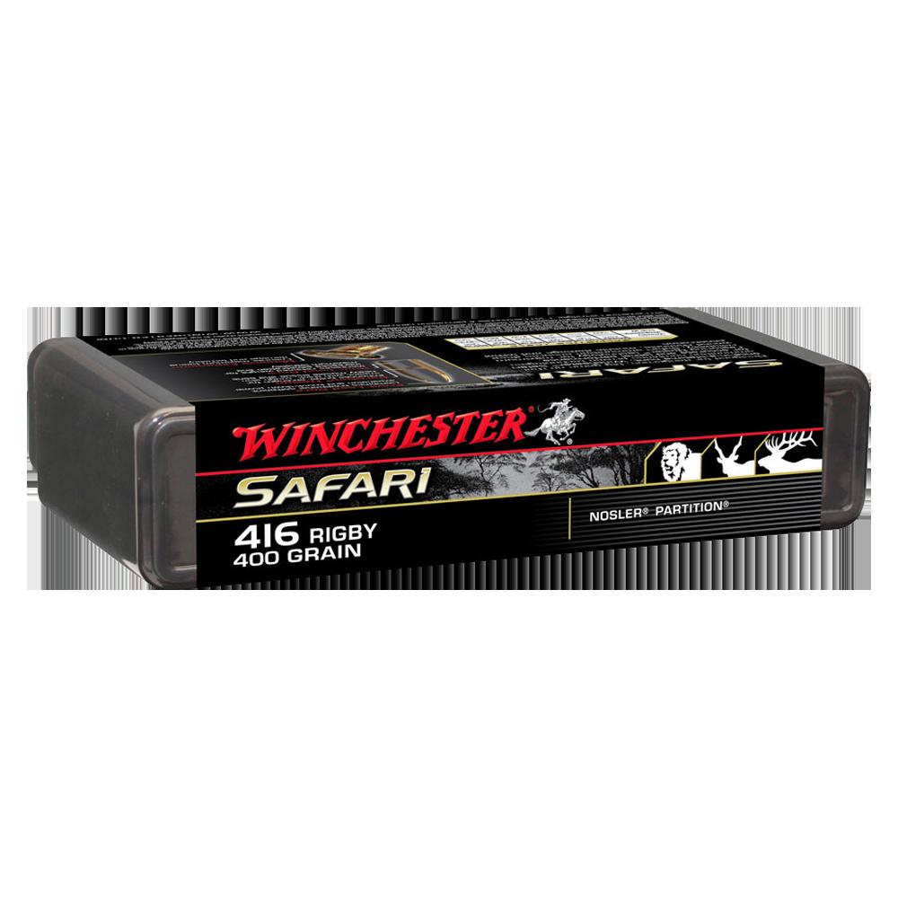 Winchester Supreme 416Rig 400gr Nosler partition