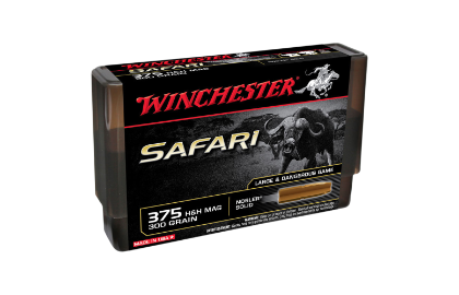 Winchester Supreme 375H&H 300gr Nosler solid LF