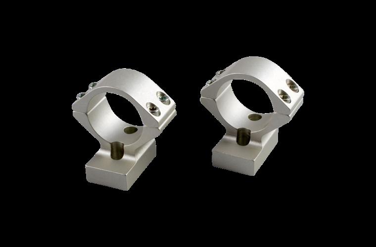 Talley X-Bolt 30mm low silver mounts 1 piece