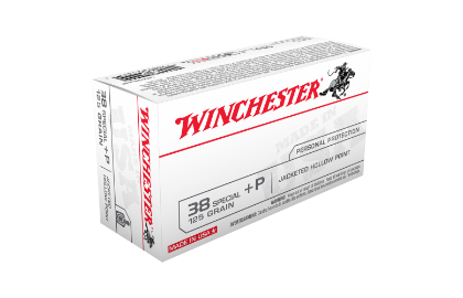 Winchester USA value pack 38SP +P 125gr JHP