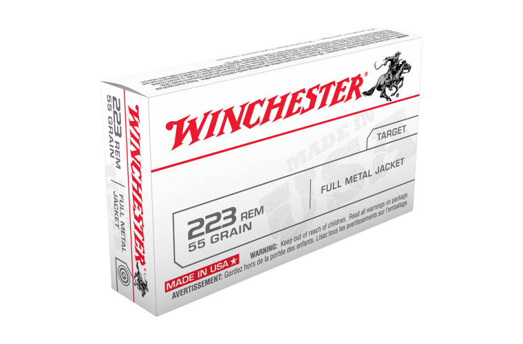 Winchester USA value pack 55gr FMJ