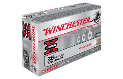 Winchester Super Clean 38SP 125gr JFP