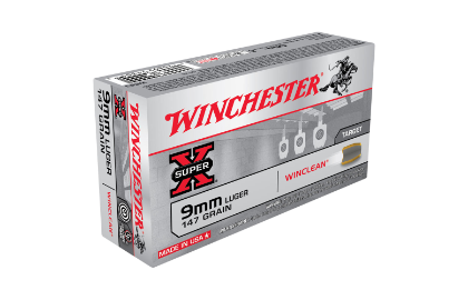 Winchester Super Clean 9MM 147gr BEB