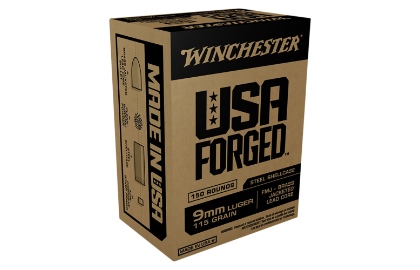 Winchester USA Forged 9MM 115g FMJ Steel
