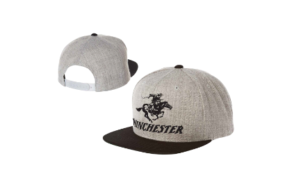 Winchester Snap Back Print Grey