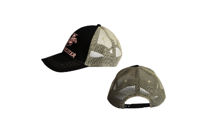 Winchester Cap Ladies Trucker Black