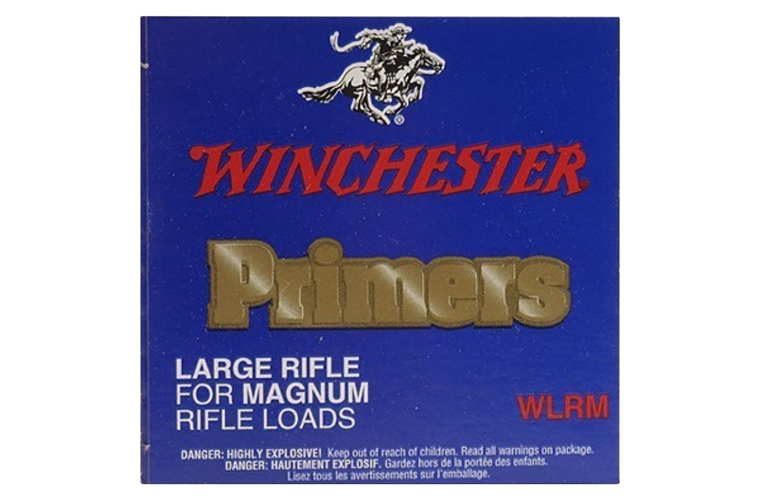 Winchester Large Rifle Magnum primer #8- 1/2M-120