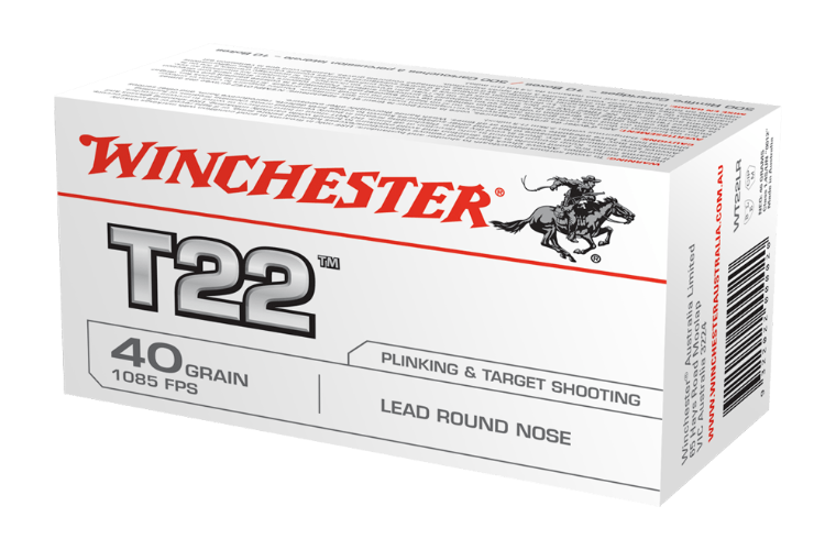 Winchester T22 22LR 40gr solid