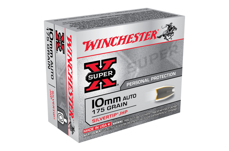 Winchester Super X 10MM Auto 175gr STHP
