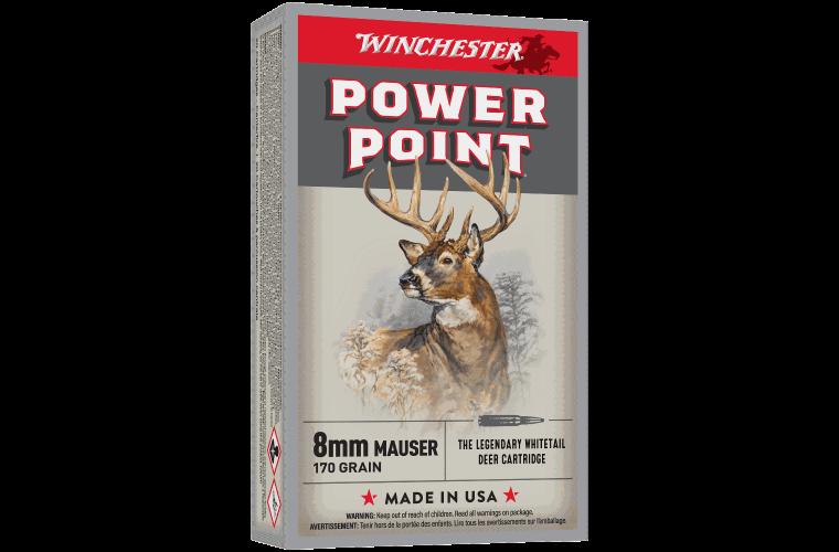 Winchester Super X 8MM Mauser 170gr PP
