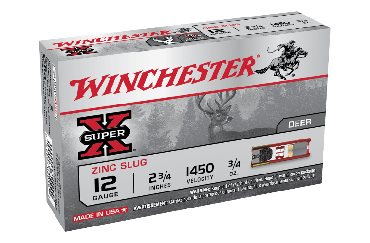 Winchester Super X 12G rifled slug LF 2-3/4