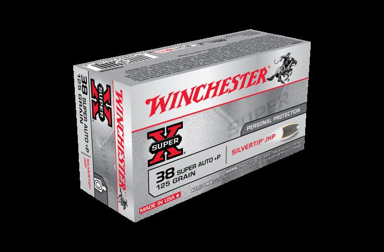 Winchester Super X 38 Super Auto +P 125gr STHP